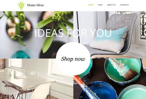 Free website builder for home decor and home decor website templates